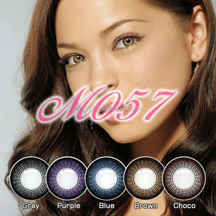 two and three tone doll eye cosmetics contacts fairy colored contact lens