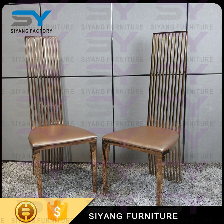 Simple style metal dining chair for home furniture CY013