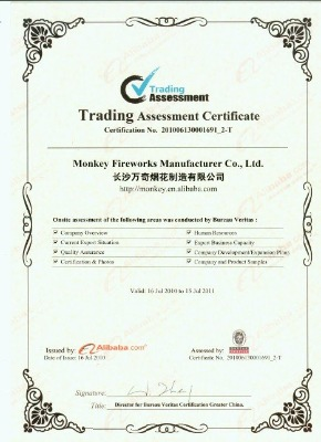 Trading Assessment Certificate