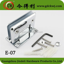 Chorme plated glass shower bathroom hinges