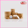 Free sample 5g,10g,15g,20g,30g,50g,100g,150g,outer bamboo inner plastic cosmetic packing cylinder cream jar skin care cream jars