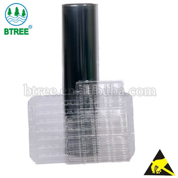 Btree 0.5mm Antistatic Plastic PET Sheet In Roll Form