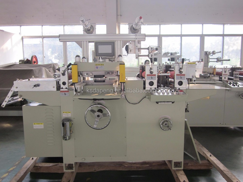 Insulation PVC label automatic die cutting machine
