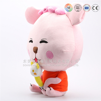 cute battery operated electronic plush stuffed cat toy