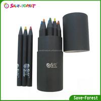 Mini oil color Newspaper pencil set