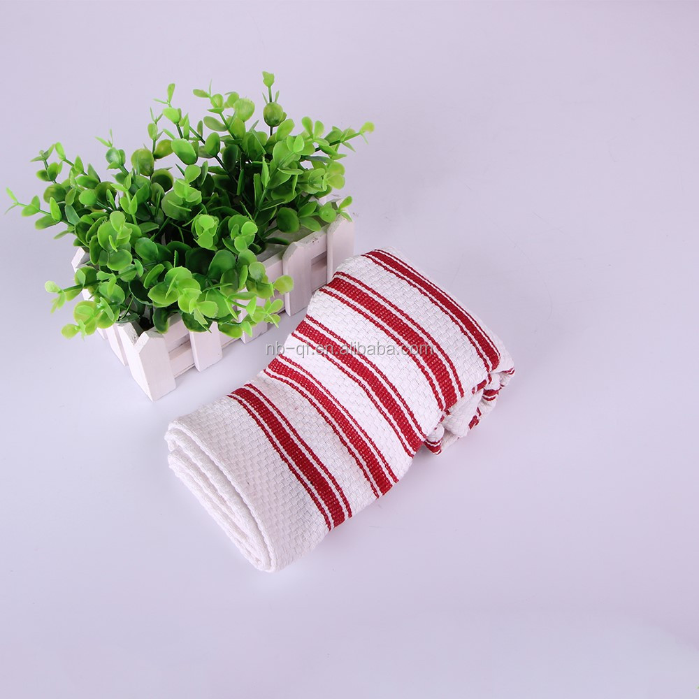 china factory wholesale 100% cotton fabric home textile bamboo dish cloth