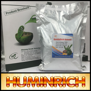 """HuminRich"" High Grade K Fulvate Water Soluble Supplier Potassium Humate"