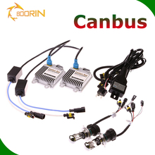 Top Quality HID Conversion Kit 35W 55W 75W Slim Ballast AC DC HID Conversion Bulbs CANBUS H/L H1 H4 H7 9006 car hid xenon lamp