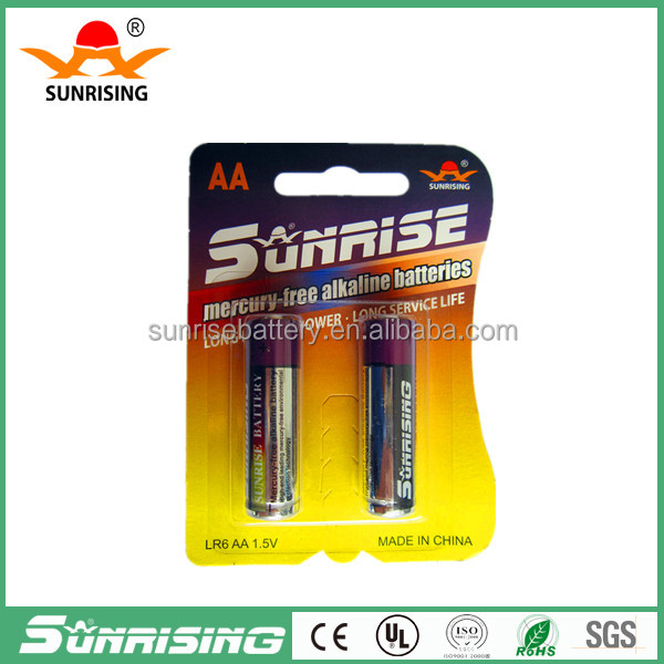 AAA Size and 1.5V Nominal Voltage 1.5v aaa am4 lr03 alkaline battery for TV remote control