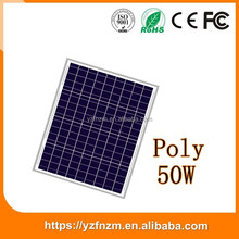 wholesale china manufacturer provide 50w solar panel with free sample