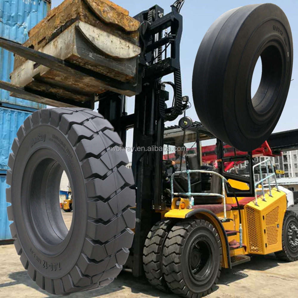 Toyota 12 Ton Forklift 50-4FD120 Solid Front Tyre 10.00-20-14PR Rear Tyre 10.00-20-14PR