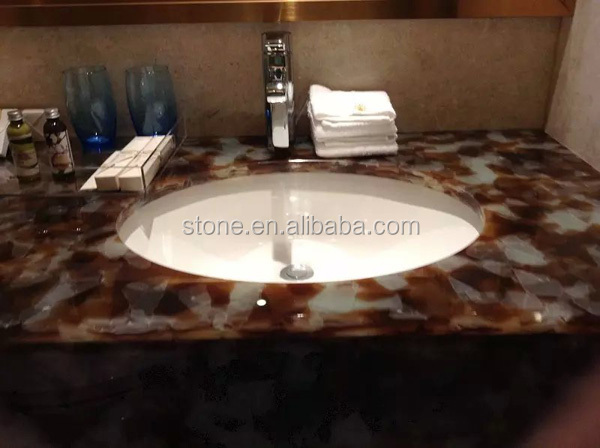 Artificial Jade Glass Panel Recycled Jade Glass Slabs for Wall Tabletop Countertop use