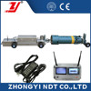 Industrial NDT Inspection Micro-Wave Video Pipeline Testing Crawler Equipment