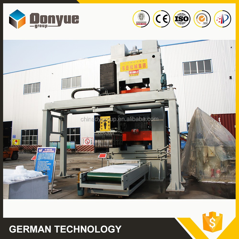 Better sound insulation sand lime brick setting machines