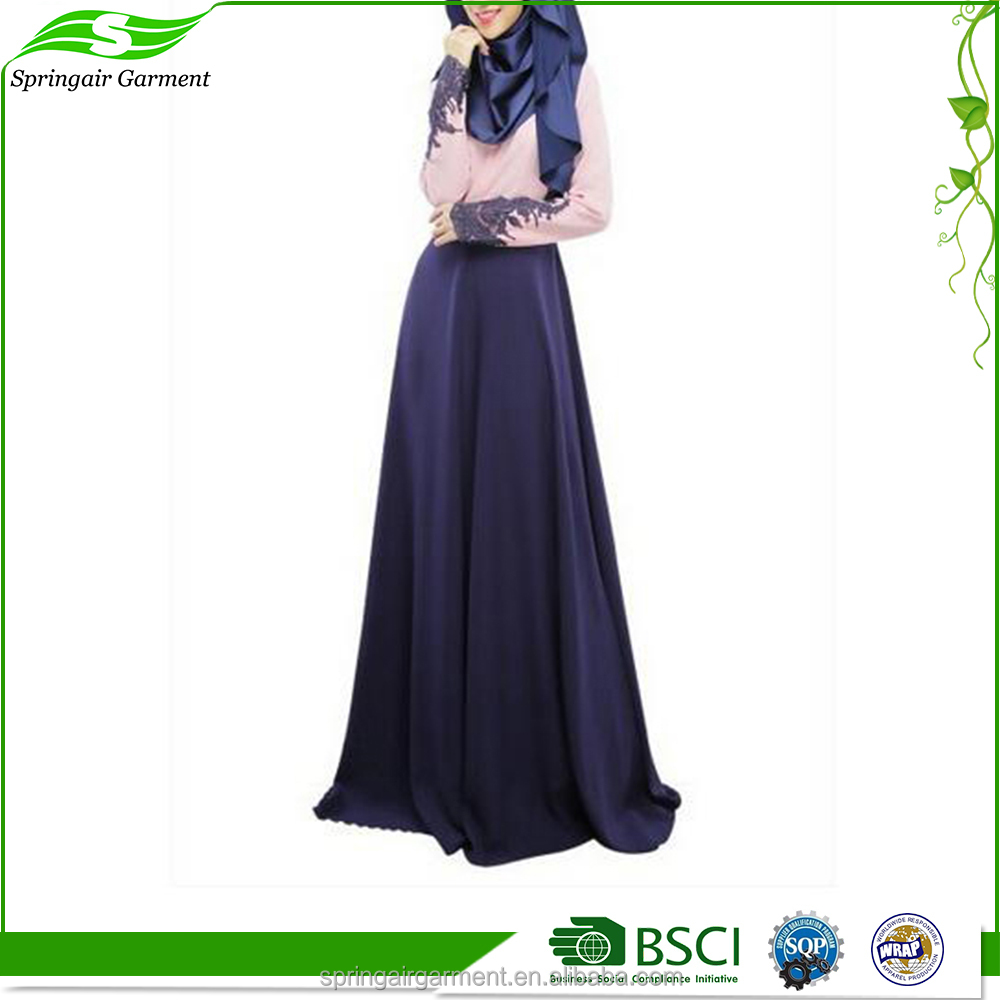 Import New Design Muslim Party Dress Open Abaya Cardigan