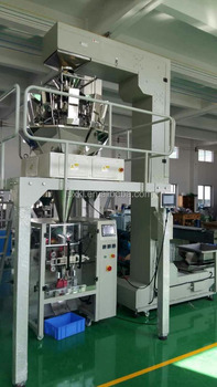 full automatic weighing snacks packing machine China manufactuer