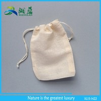 top quality cheap cotton fabric bag, small drawstring bags, muslin drawstring bags