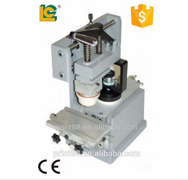 alibaba express dongguan mini Manual ink cup pen printing machine china/pad printing machine for mouse/calculator LC-TPM-100T