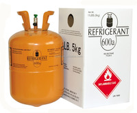 hot sale gas refrigerant r600a with small disposable cylinder packing