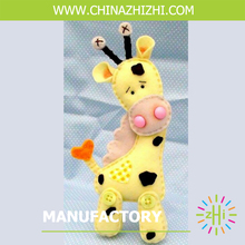 fashion best seller soft stuffed cute Sika deer toys made in china with high quality