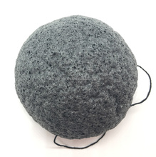 TR-KS001 Wholesale Natural Charcoal Konjac Sponge -Free Samples