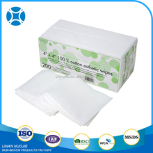 Wholesale Market Mini Nonwoven Medical Cleaning Cloth Wipe