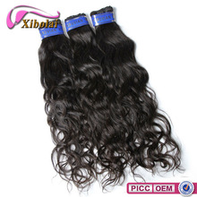 Good supply factory price 100% unprocessed highest natural wavy virgin Peruvian hair