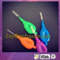 I Shape Interdental Brush with Coin Handle