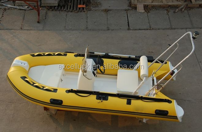 small rib rigid inflatable hypalon boat