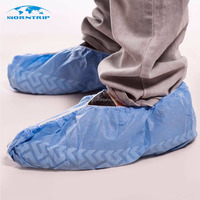 Wholesale Custom Shoe Covers Disposable Non woven Fabric Boot Cover