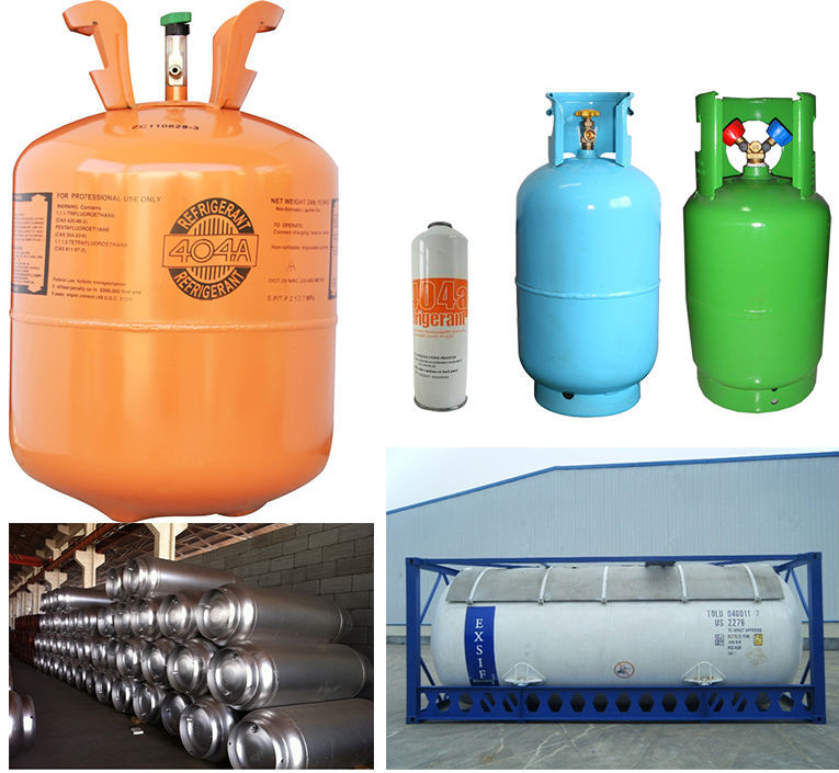 High pure mixed refrigerant gas r404a refrigerant with good price made in china