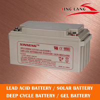 sealed rechargeable, lead acid maintenance free 12 70AH battery