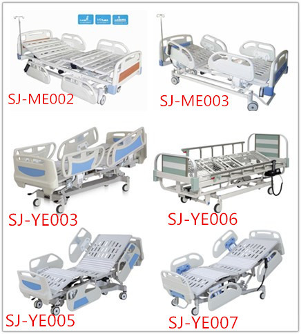 SJ-MM303 Cheap Simple Flat Hospital Bed CE passed