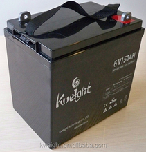 good 6V 150AH AGM battery for electric bike and bicycle