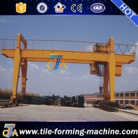 electric double beams overhead bridge cranes material handling equipments by bello lin