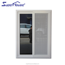 AS2047 aluminium frame sliding glass window with high sound proof for home and project