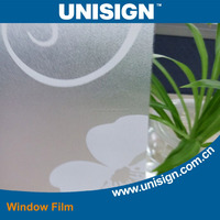 Unisign Decorative Window Film decorative self adhesive vinyl film