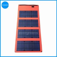 36W 18V folding mono hp laptop solar charger
