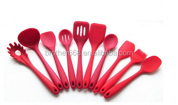 FDA LFGB hot selling kitchen utensils cooking silicone kitchen utensils kitchenware