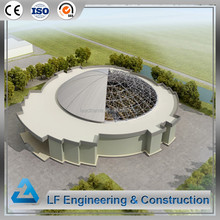 Prefabricated hall dome steel prefab building