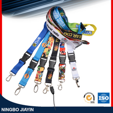 100%Polyester Printing Lanyard With Safety Breakaway Accessories