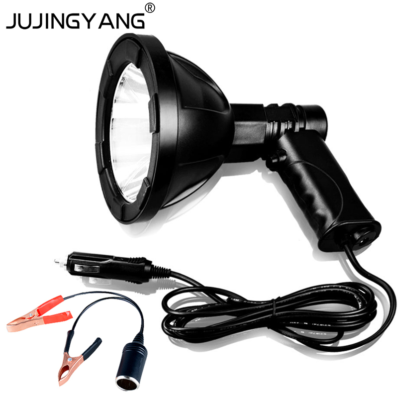 JUJINGYANG ultra bright 350lm waterproof 30W LED <strong>Spotlight</strong> for camping,hunting,fishing,marine