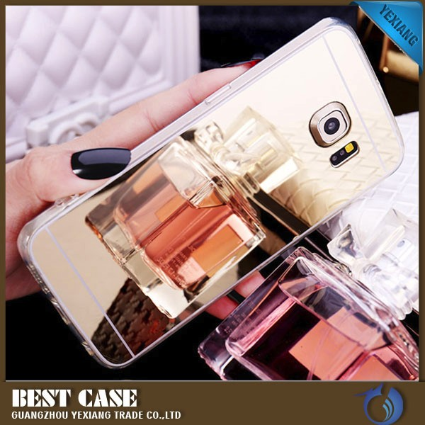 2016 deluxy tpu bumper mirror case for samsung galaxy s3 cover