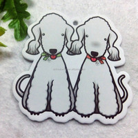 Animal Dog Shaped Scented Card Car Air Fresheners For Cars