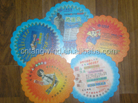 lovely Dog and Cartoon Promotional OEM Wholesale Paper Plate