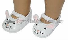 super cute mouse design 18 inch American girl doll dress shoes