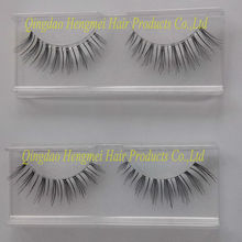 2013 new launch korean material natural strip red cherry eyelash