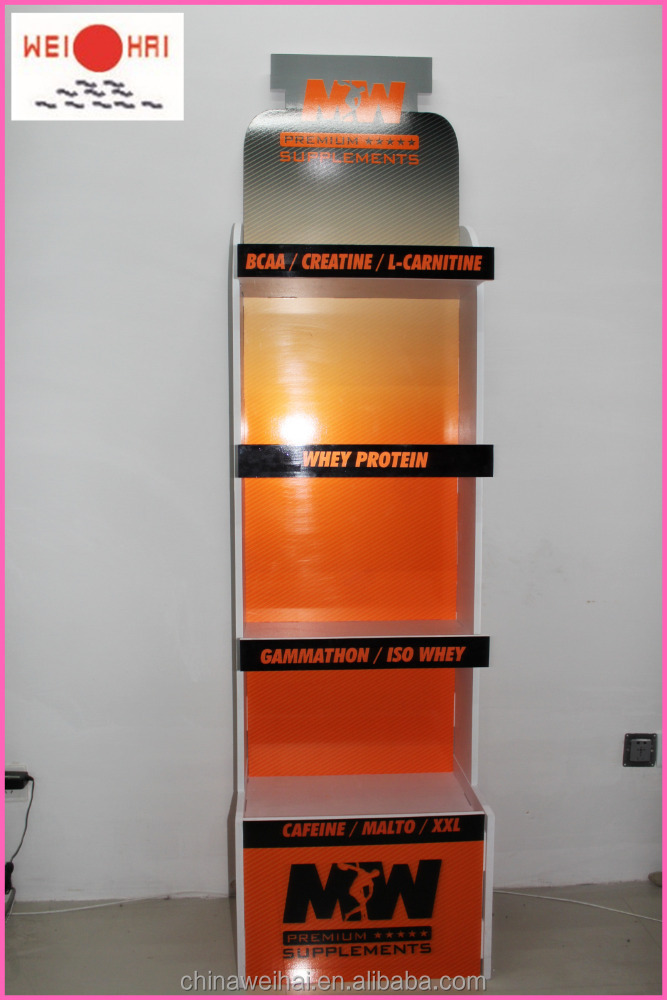 Sports Products PVC Display Stand