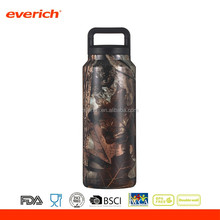 36oz Thermo Vacuum Insulated Sports Stainless Steel Water Bottle