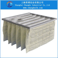 synthetic bag filter/air multi filter bag/air conditioning pocket filter